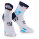 Compressport ProRacing V3 Run High Socks Ironman 2017 punchy blue